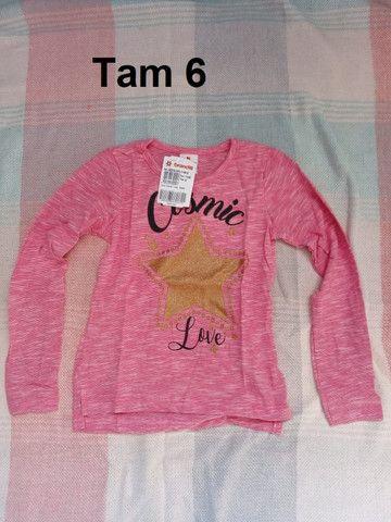 Lote de roupas infantis Novas Brandili ou unidade - Foto 6