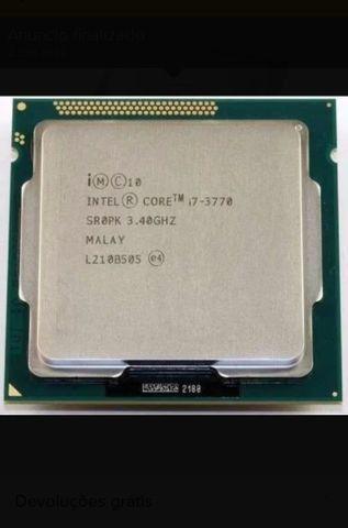 Processador I7 3770 3,4 GHz faço pelo ML - Foto 3