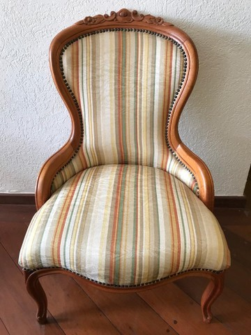 Cadeira Luís XV Vitoriana  - Foto 4