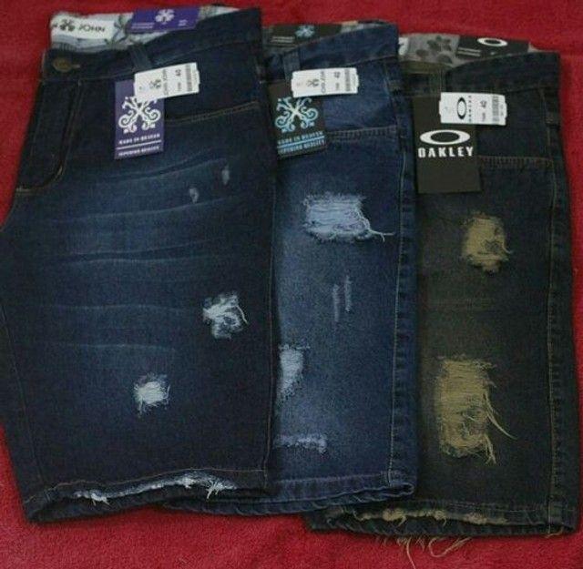 Bermudas Jeans No Atacado  - Foto 2