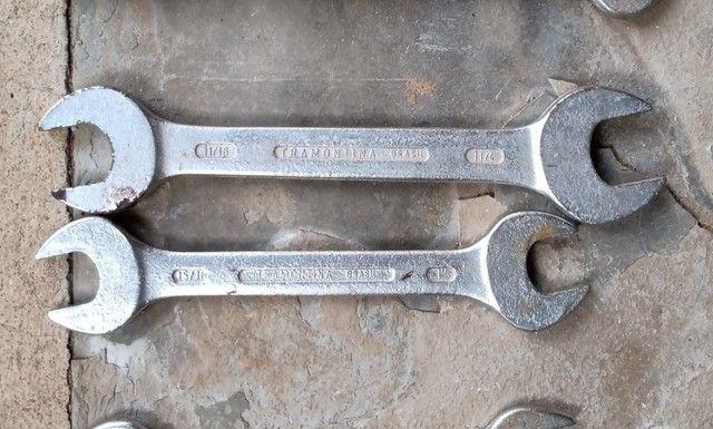 Chaves de boca Tramontina polegadas 1 1/16 com 1 1/4 e 15/16 com 1