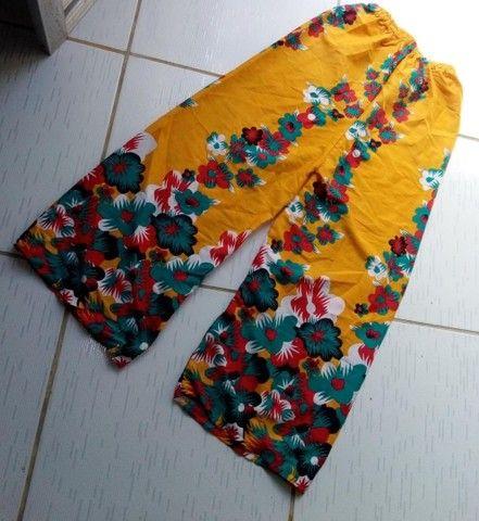 Calça leve Alegres, tamanho P - Foto 2