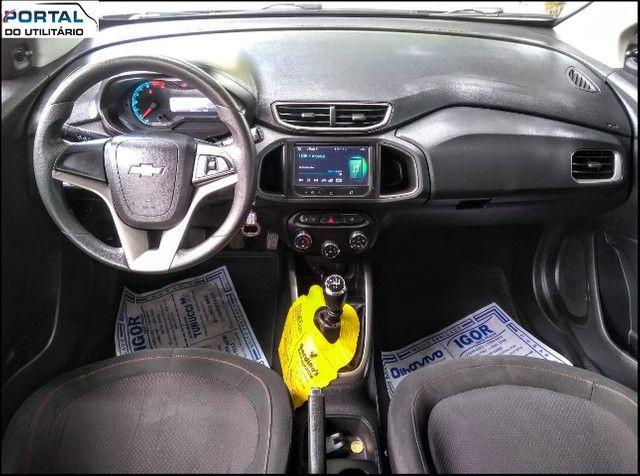 Chevrolet Onix Hatch LT - 2016 - Cinza, 1.4 Flex, Único Dono, Baixíssimo Km !! - Foto 4