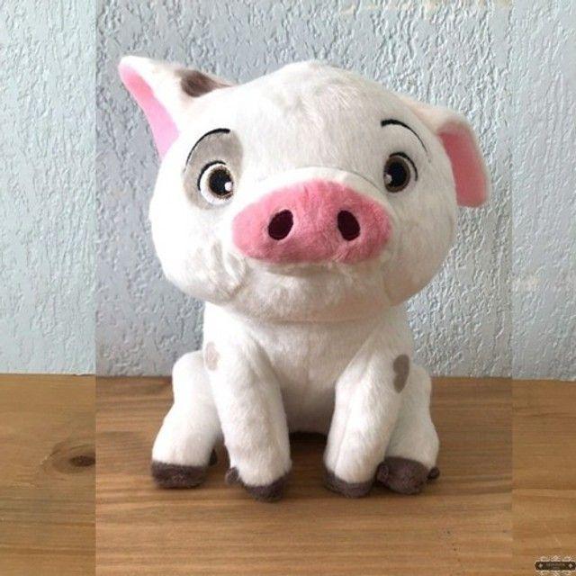 pua porco pelúcia porquinho moana disney-  Retirada da loja - Foto 4