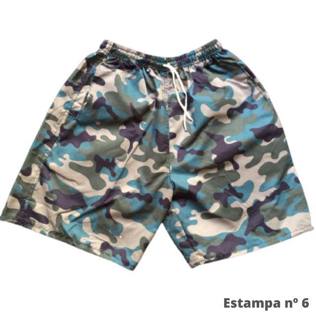 Kit 3 Shorts Masculino Mauricinho Verão Revenda - Foto 6