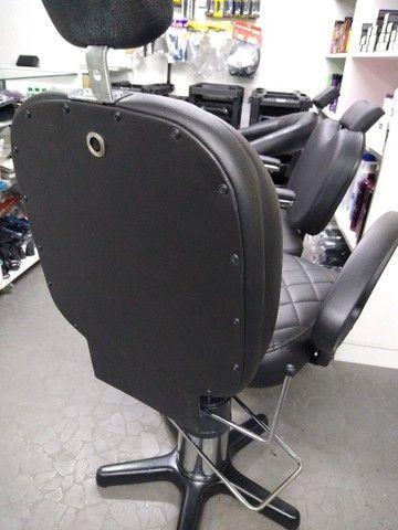 Cadeira para barbeiro reclinável - Foto 4