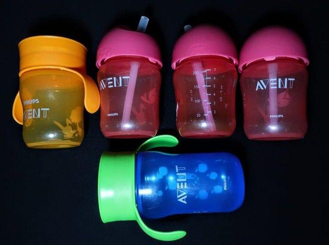 copos usados avent de transição/ menina e menino ler descrição