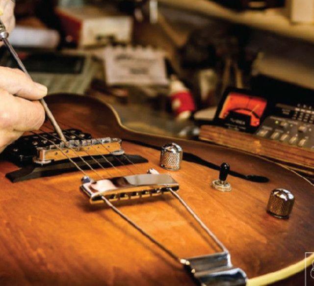 Luthieria aeroporto/ manutenção em instrumentos musicais de cordas em geral  - Foto 3
