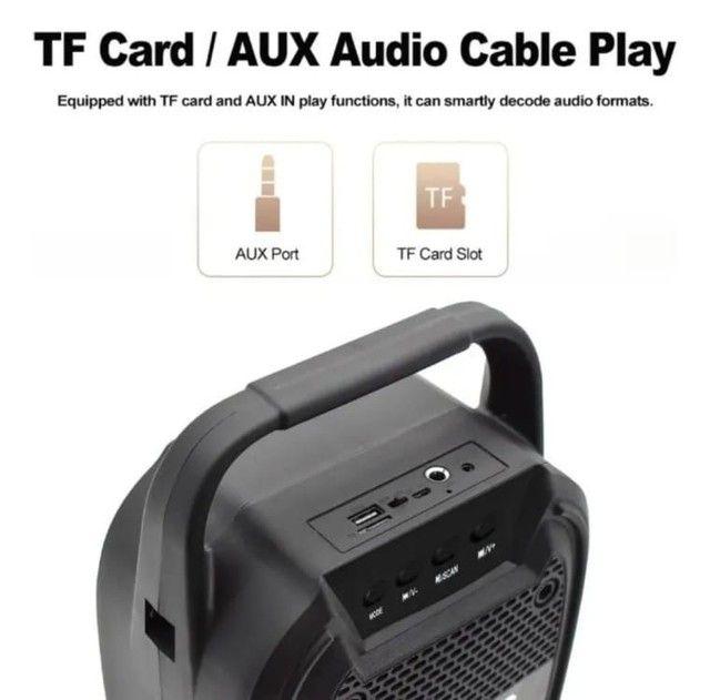Caixa de som Bluetooth muito potente ? 99,99? - Foto 4