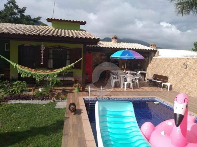 Casa com 3 dormitórios à venda por R$ 400.000,00 - Jacaroá - Maricá/RJ