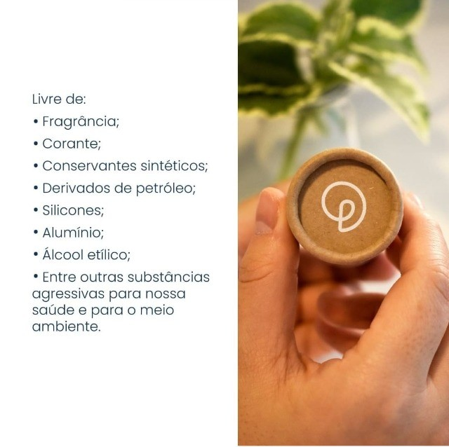 Desodorante 100% Natural Ecológico e Vegano Unissex - Foto 6