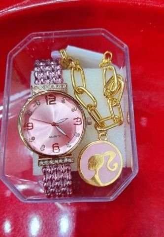 Kit Relógio Para o dia das mães