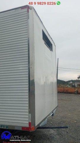 carroceria frigorifica truck caminhão trucado niju 14 paletes - Foto 3