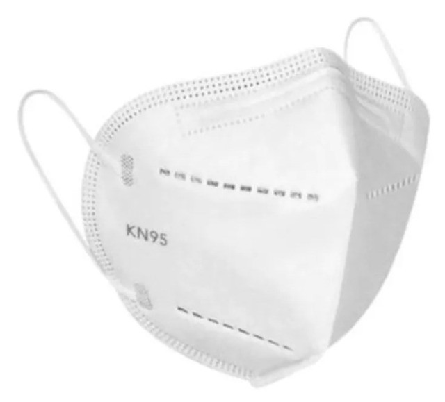 Máscara N95 Ffp2 Kn95 - Pacote Com 10 Unidades - Foto 3