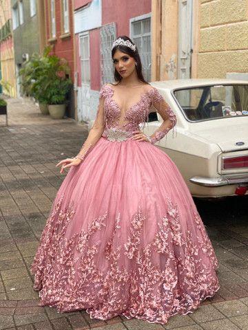 Coleção 2021 de vestido de debutante - 15 anos  - Foto 2