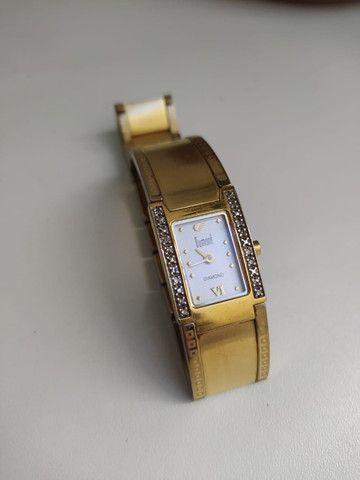 Relógio Dumont Diamond Feminino Dourado