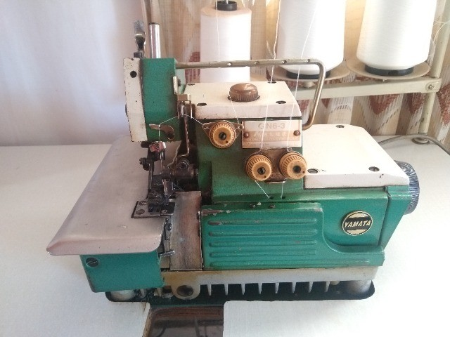 Máquina de Costura Yamata Overlock GN6-3 R$ 1.000,00 P/ Buscar - Foto 3
