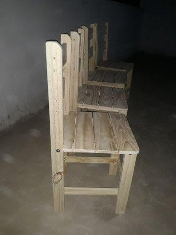 Cadeira de pinus - Foto 3