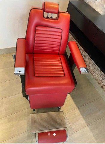 Cadeira Barbeiro Barbearia Ferrante  - Foto 2