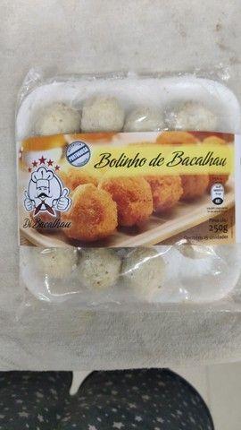 Delicioso bolinho de bacalhau