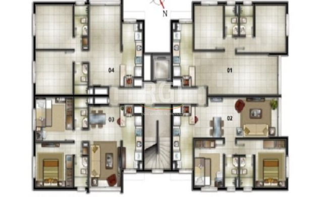 Apartamento à venda com 2 dormitórios em Petrópolis, Porto alegre cod:4527 - Foto 2