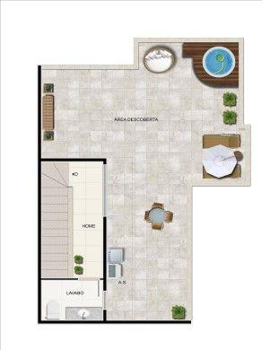 Cobertura à venda com 2 dormitórios em Colégio batista, Belo horizonte cod:18724 - Foto 2