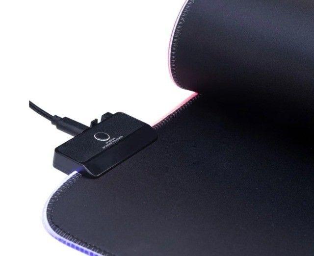 Mouse Pad Speed Lumus RGB Extra Grande Dazz 80cm 45cm - Loja Natan Abreu Serra - Foto 3