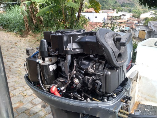 Vendo lancha com motor Yamaha de 40hp - Foto 7