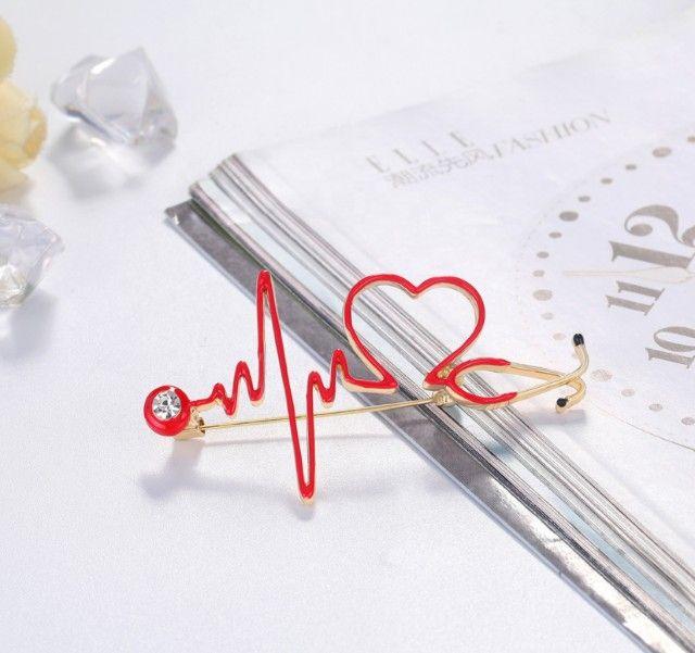 Broche Presente Lembrancinha para Enfermagem Enfermeiras Medicas - Foto 3