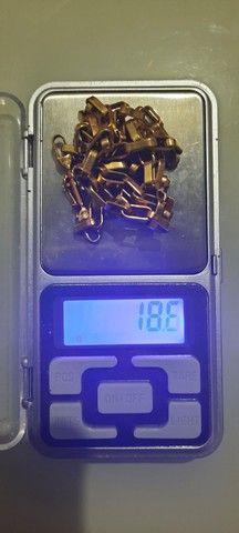 Corrente em ouro 18k - Foto 3