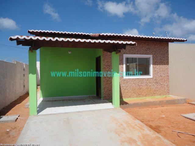 Excelente Casa no Moinho Dos Ventos Em Extremoz/RN (74 m²) - Desconto de até R 10 mil