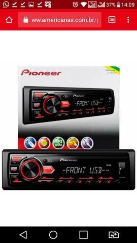 Radio Pioneer Troco por Tv Led ou Smart LEIA