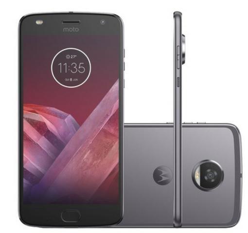 Smartphone Motorola Moto Z2 Play XT1710-07 64GB Platinum Tela 5.5