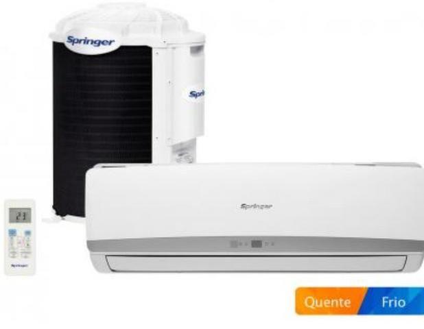 Ar condicionado split Springer 9000 BTUs - com instalação grátis!