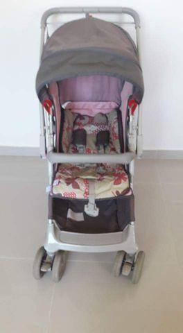 Carrinho sem bebê conforto/Piscina bolinha/E.v.a