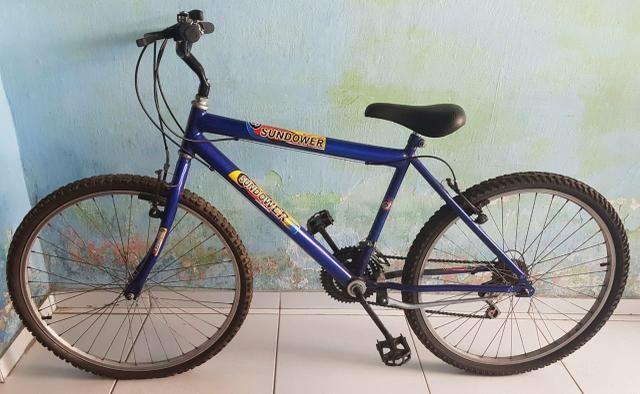 Bicicleta de machas