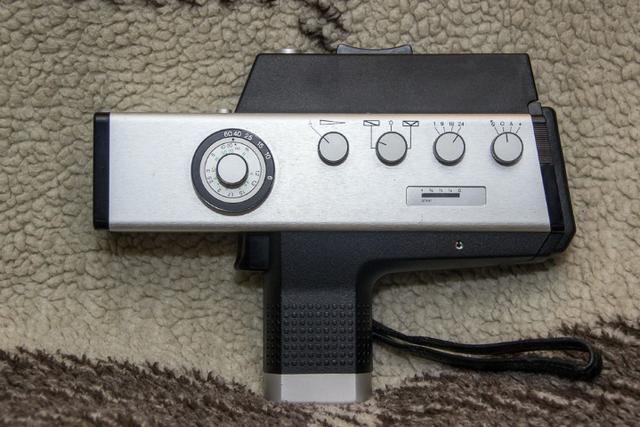 Filmadora Super 8 Agfa Movexoom 4000 Synchro Sound