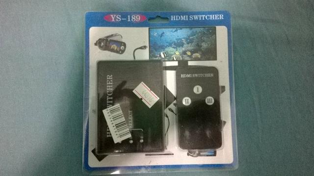Splitter HDMI mais entradas para TV/Monitor