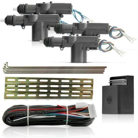 Kit Trava Eletrica Universal 4 Portas com garantia