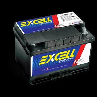 Bateria Excell - R$ 145,00