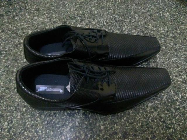 2 pares de Sapato social Envernizado