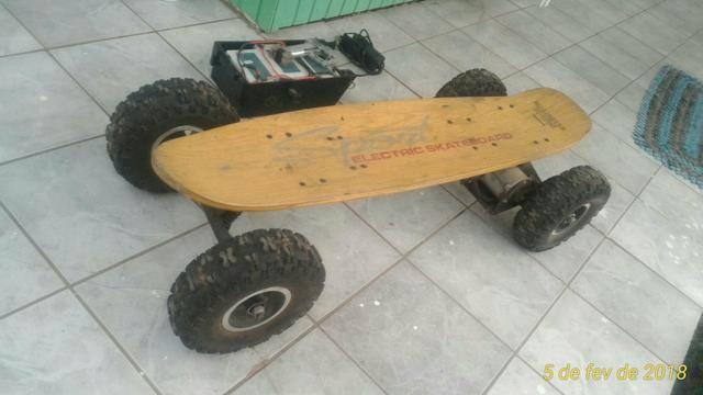 Skate elétrico 800w