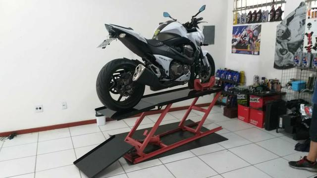 Elevador para motos 350 kg - Fabrica 24h zap - Foto 4