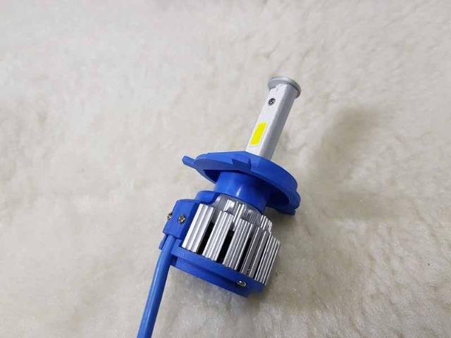 Lampada LED Farol H4 4100LM de potencia 36W com Cooler (Uma Unidade/Moto) - Foto 12