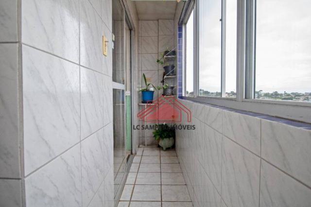 Apartamento com 3 dormitórios à venda, 69 m² por r$ 270.000,00 - santa quitéria - curitiba - Foto 18