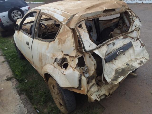Ford Ka sucata baixada no detran - Foto 6