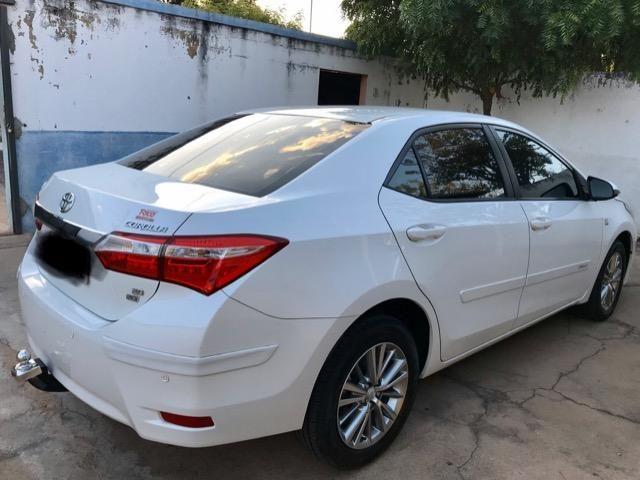 Corolla XEI 2015 branco perolizado. Carro extra com 65 mil km! - Foto 10
