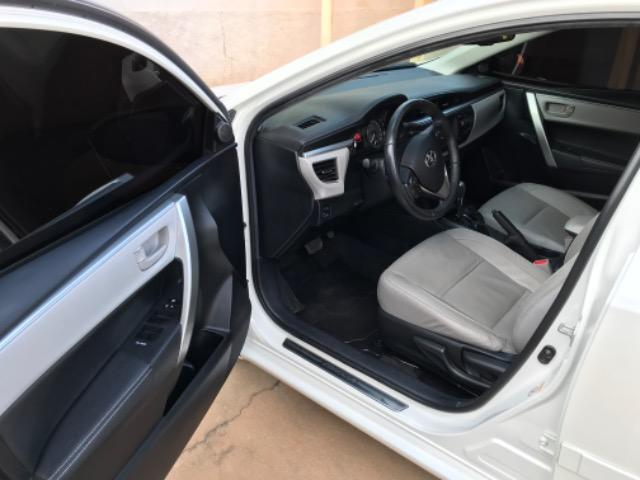 Corolla XEI 2015 branco perolizado. Carro extra com 65 mil km! - Foto 3