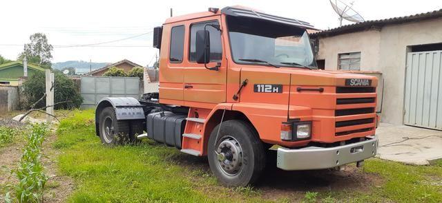 Scania 112H Laranja 1984 - Foto 5