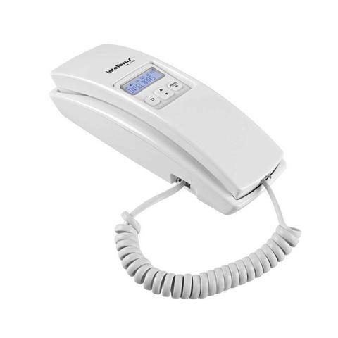 Telefone Gôndola com Fio, Intelbras , TC 2110, Branco com identificador de chamadas